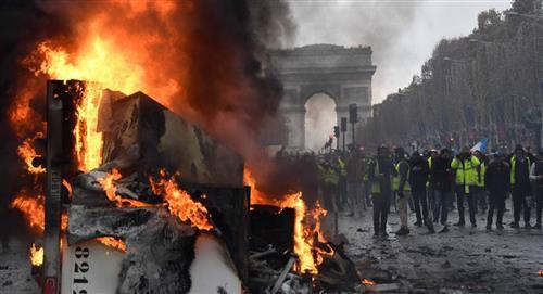 Protestas y choques en el mundo durante el Día Internacional del Trabajo