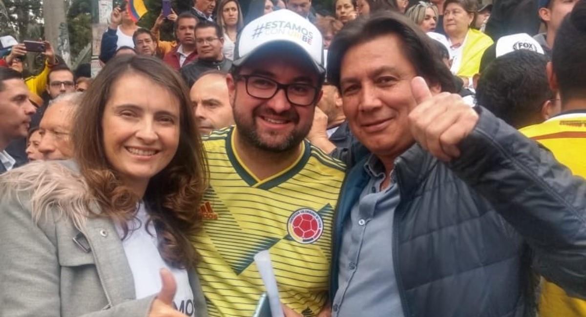 Eduardo Pimentel salió en respaldo de Álvaro Uribe. Foto: Twitter Prensa redes Eduardo Pimentel.
