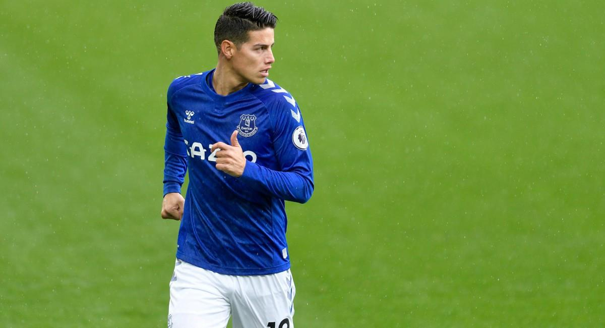 Everton perdió ante Aston Villa. Foto: Twitter Prensa redes Everton.