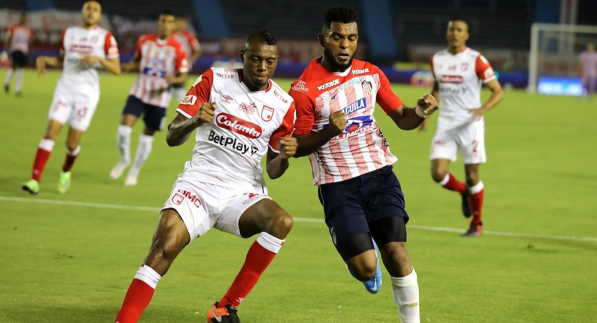 Sigue en vivo el juego entre Santa Fe vs Junior. Foto: Twitter Prensa redes Dimayor.