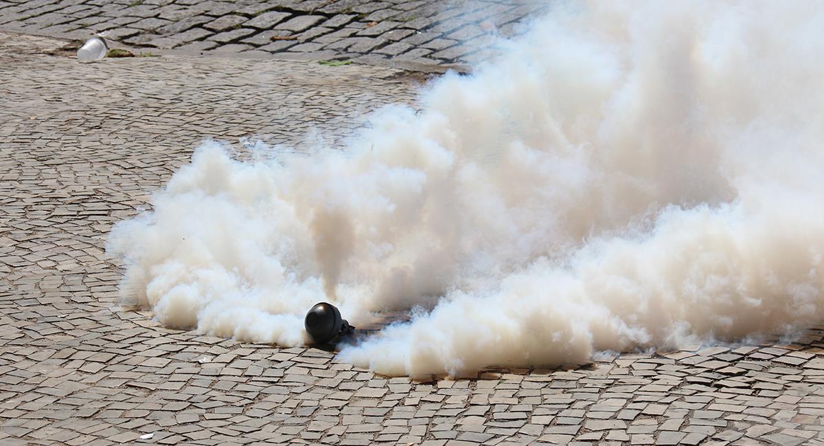Gases lacrimógenos en medio de una pandemia: estas podrían ser las consecuencias. Foto: Shutterstock