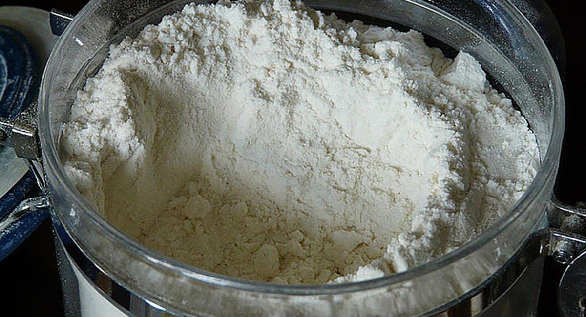 Las propiedades del mangostino se mantienen en la harina pulverizada. Foto: Unimedios