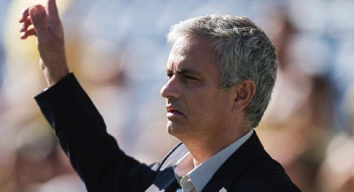 José Mourinho, nuevo DT de AS Roma. Foto: Twitter @OfficialASRoma