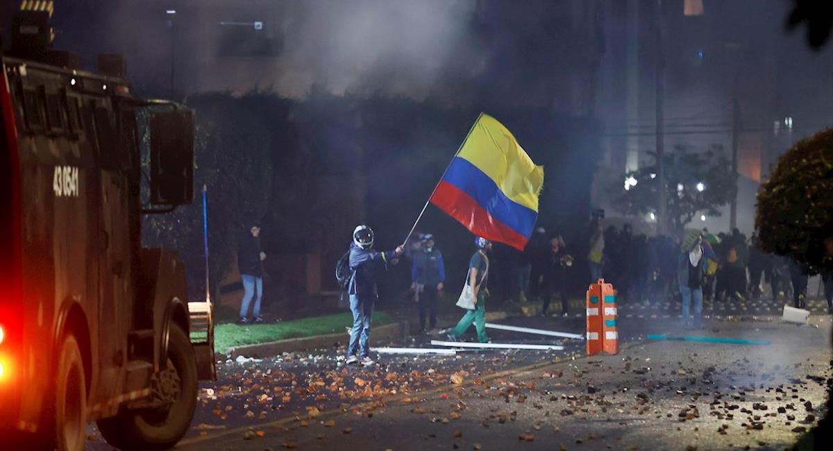 Desde Ginebra piden calma ante hechos de violencia en Colombia. Foto: EFE