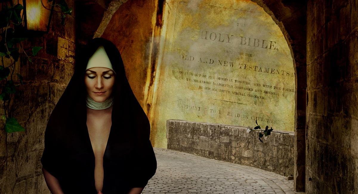 """La Hermana María era experta en Lingüística y aún así no entendía el """"mensaje de Lucifer"""". Foto: Pixabay"""