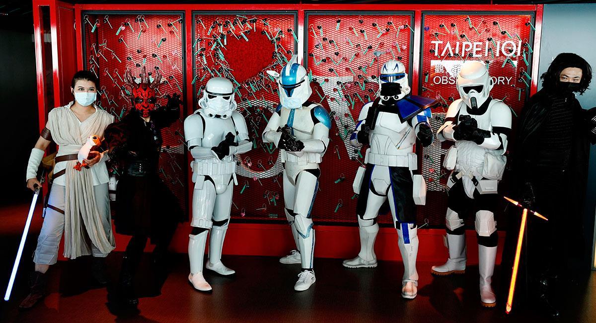 """Los fans alrededor del mundo celebran el """"Star Wars Day"""". Foto: EFE"""