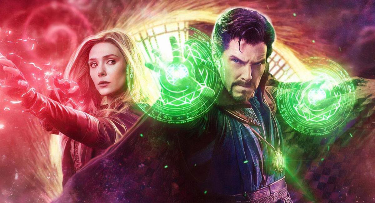 "Doctor Strange y Bruja Escarlata iban a compartir escena en ""WandaVision"". Foto: Twitter @BuhardiMarvel"