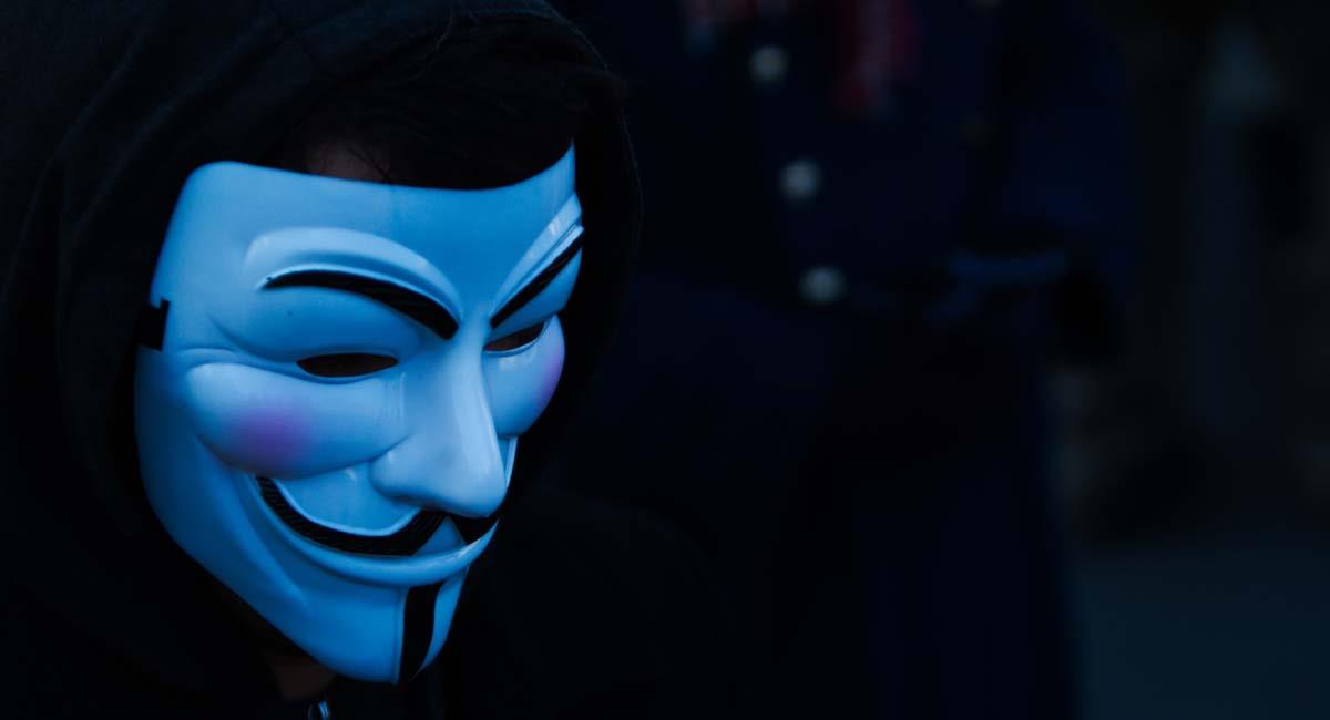 Símbolo de Anonymous a escala mundial. Foto: Flickr