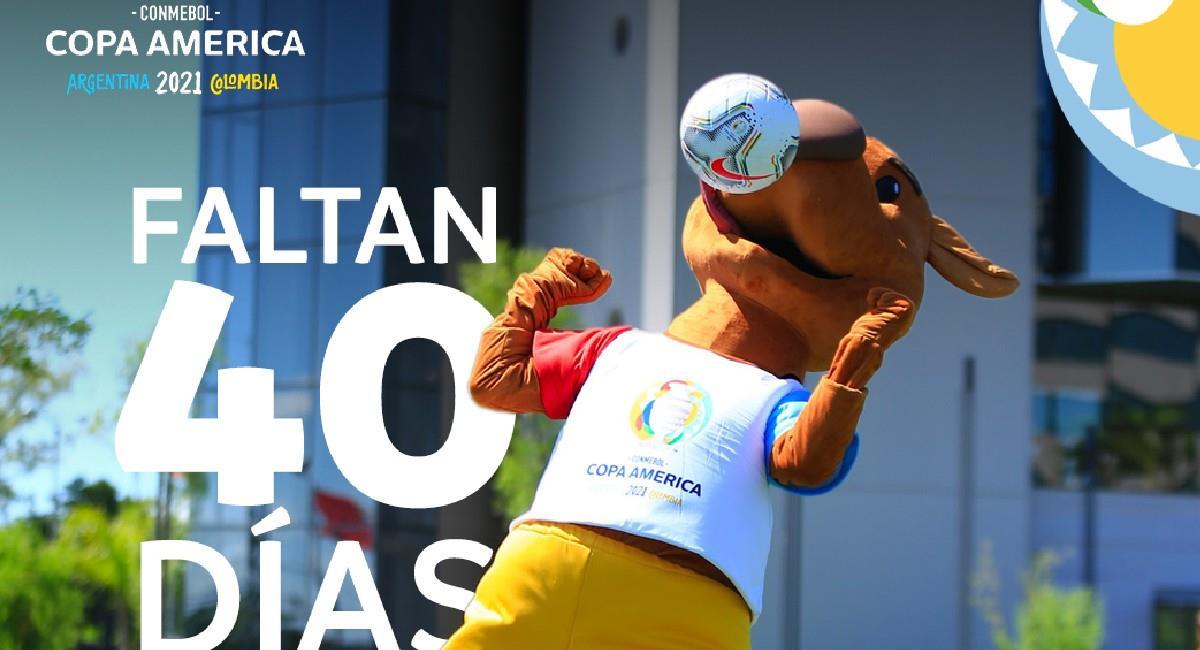 La Copa América se encuentra a poco más de un mes de su inicio. Foto: Twitter @CopaAmerica