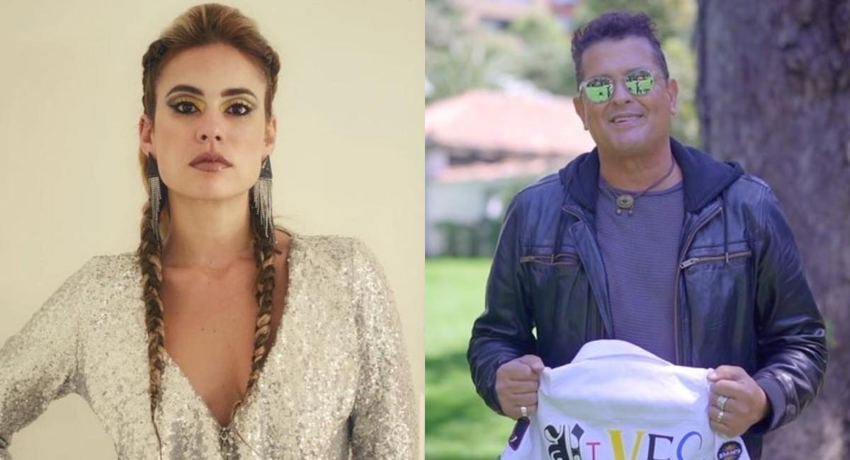 Carolina Ramírez le pidió empatía al artista colombiano. Foto: Instagram