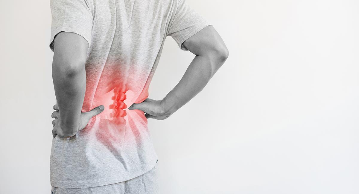 Con el teletrabajo, aumentaron las incapacidades por dolor lumbar. Foto: Shutterstock