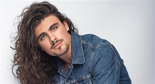 Él es Demian, hijo de Aura Cristina Geithner, que también es actor y consideran un galán