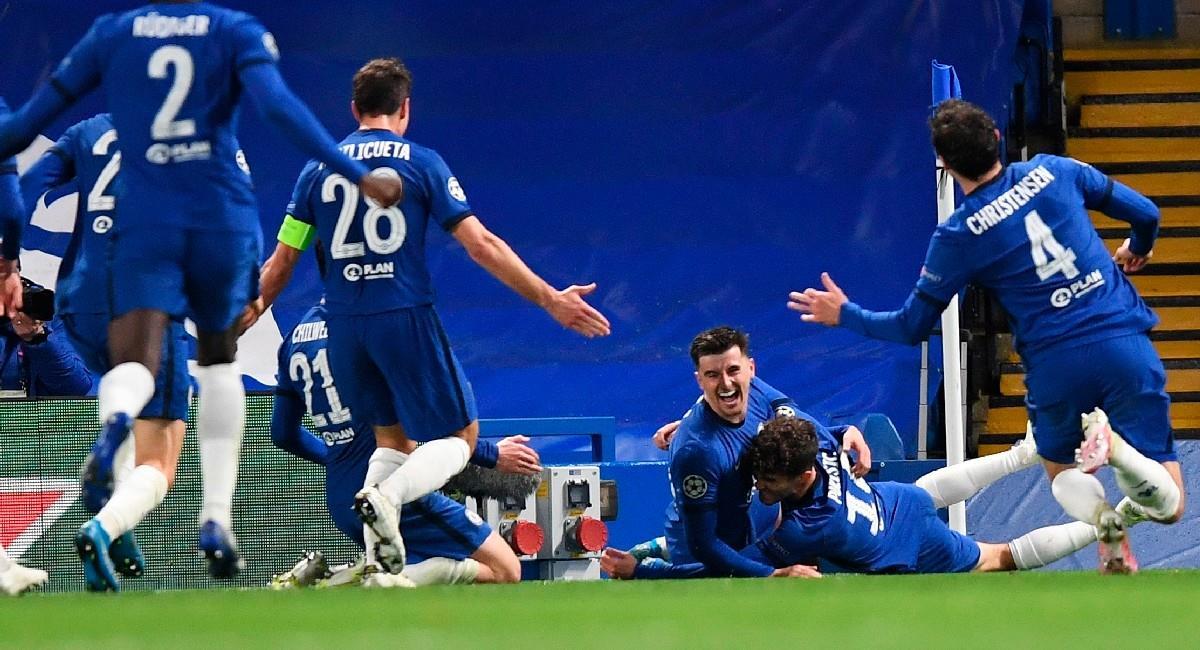 Chelsea derrota a Real Madrid y es finalista de la Champions League. Foto: EFE