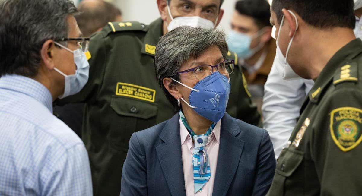 Claudia López, alcaldesa mayor de Bogotá. Foto: Twitter / @ClaudiaLopez