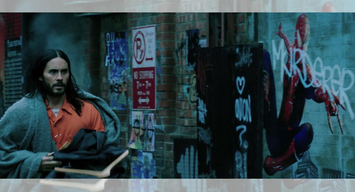 """""""Morbius"""" es esperada por muchos dada su relación con las cintas de """"Spider-Man"""". Foto: Youtube Captura canal Fandango Latam"""