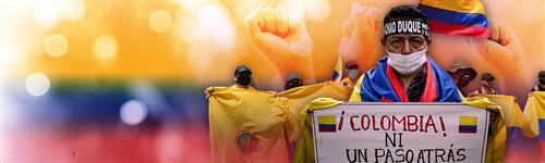 Así transcurren las manifestaciones en Colombia