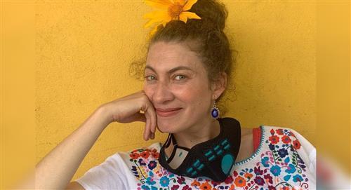 """""""Tocó salir a ver si eran estudiantes o vándalos"""": Adriana Arango marchó con su hijo"""