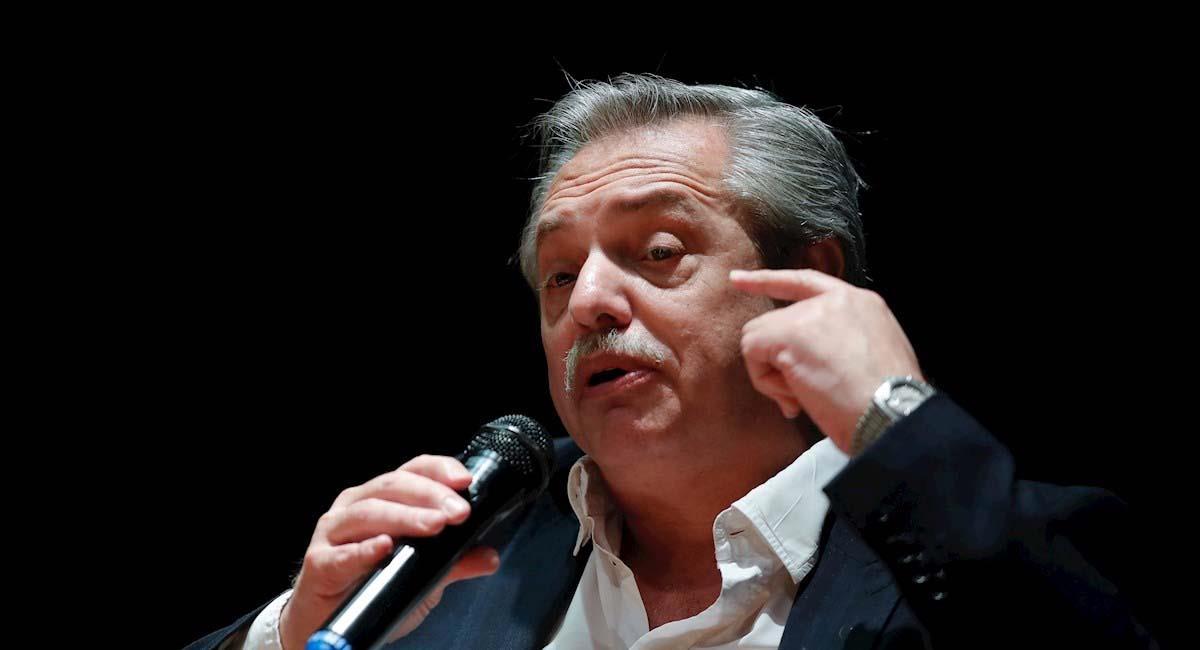 Alberto Fernández, presidente de Argentina. Foto: EFE