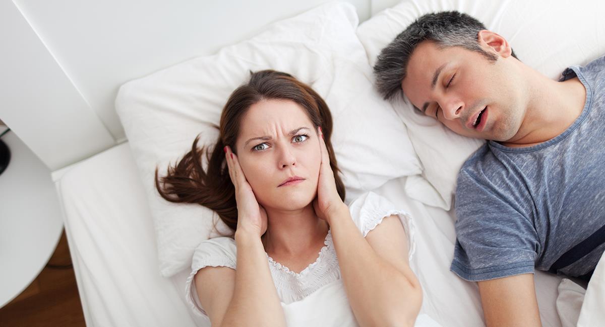 Es momento de dormir bien: 5 increíbles trucos para dejar de roncar. Foto: Shutterstock