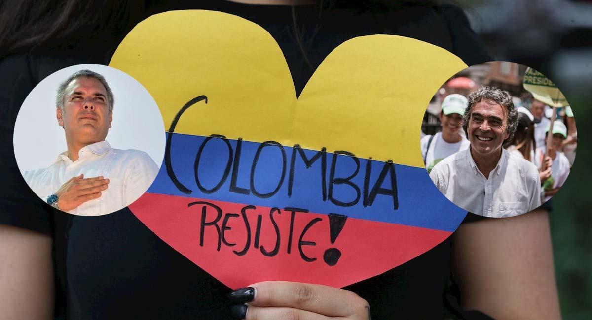 Duque se está reuniendo con los líderes políticos más importantes de Colombia. Foto: EFE