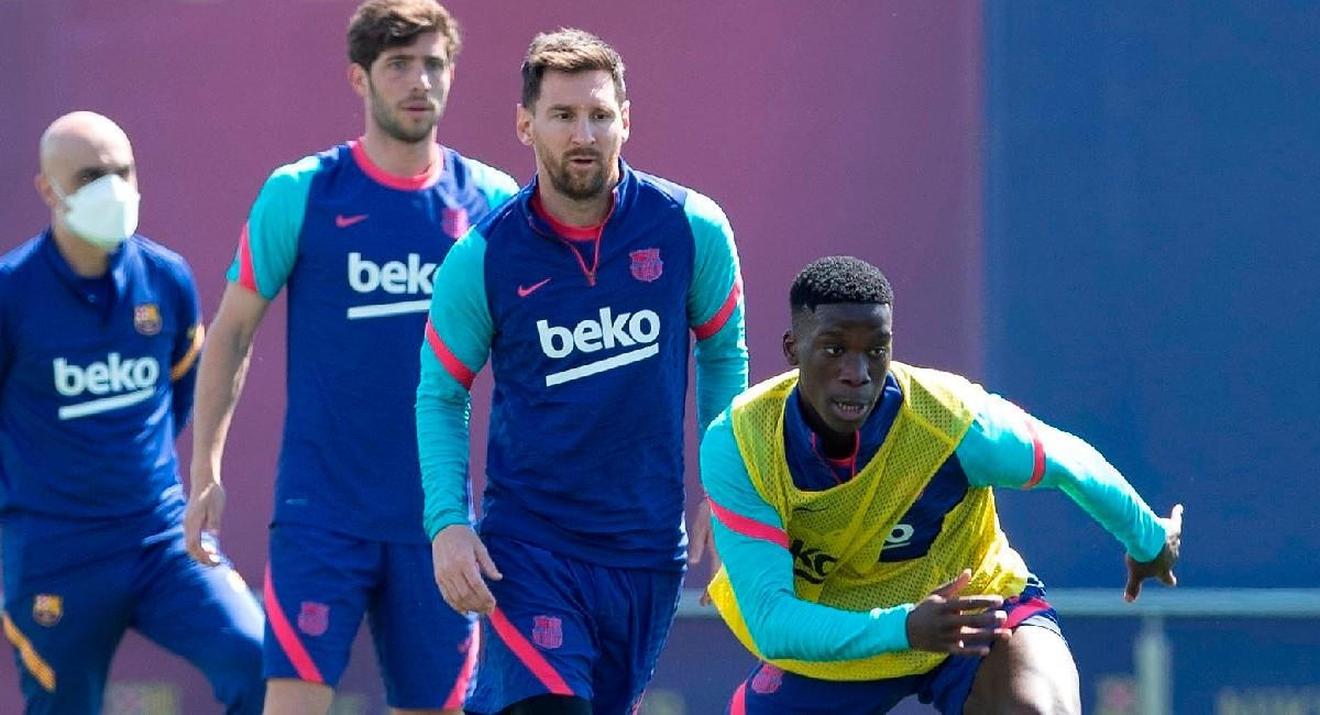 Lionel Messi, jugador argentino de Barcelona. Foto: EFE