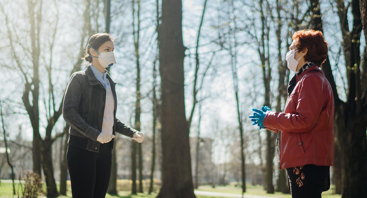 Uso del tapabocas limitaría las comunicaciones interpersonales. Foto: Shutterstock