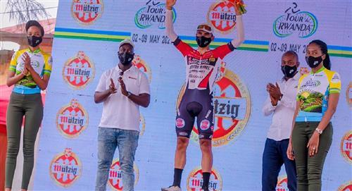 Jhonatan Restrepo gana la etapa 7 del Tour de Ruanda