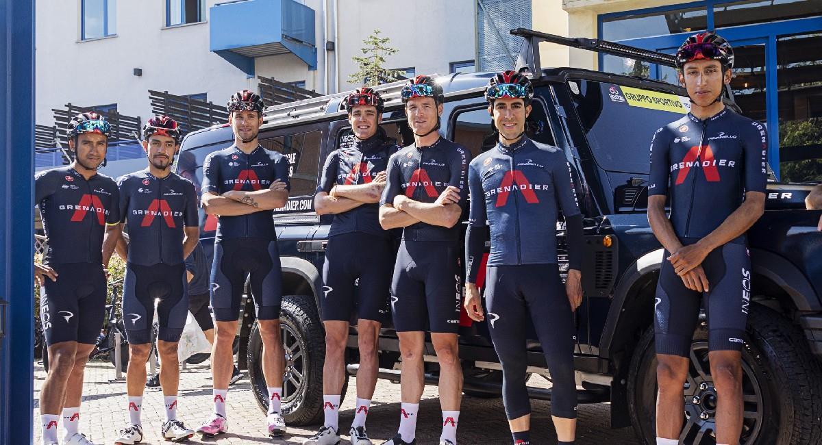 Dani Martínez, el mejor colombiano en la etapa 1 del Giro