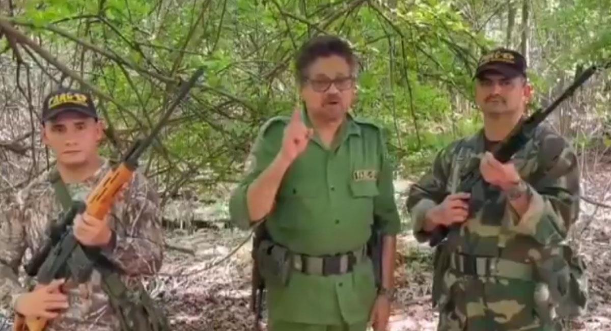 Iván Márquez reapareció en un video con un contundente mensaje para Duque