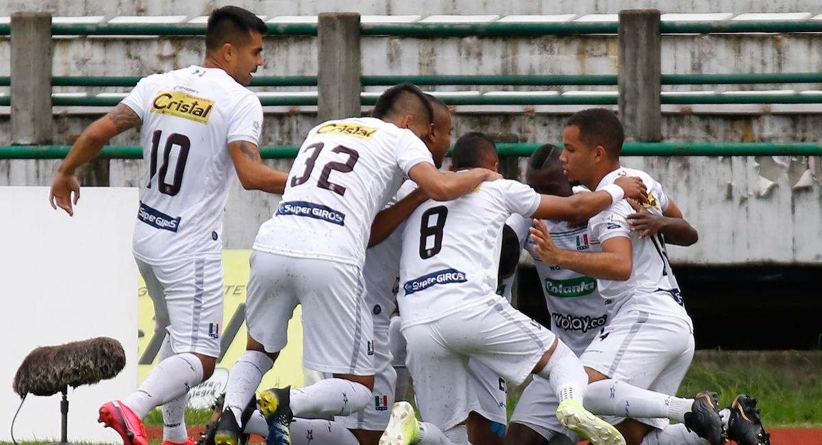 Once Caldas anunció la salida de algunos jugadores. Foto: Twitter Prensa redes Dimayor.