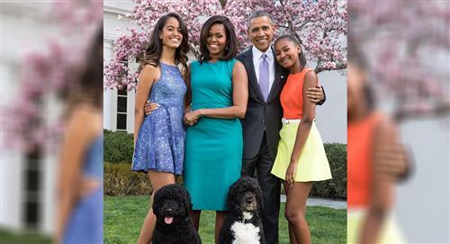 Falleció Bo, el perro de la familia Obama