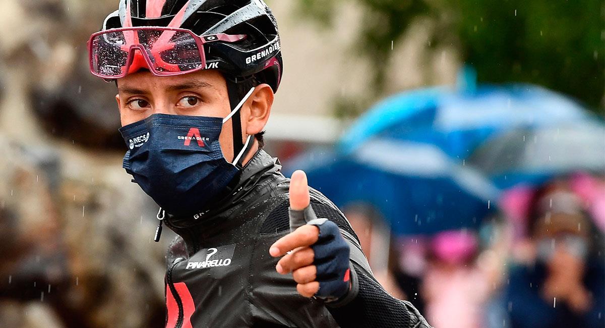 Egan Bernal ha realizado buenas actuaciones en su primer Giro de Italia. Foto: EFE