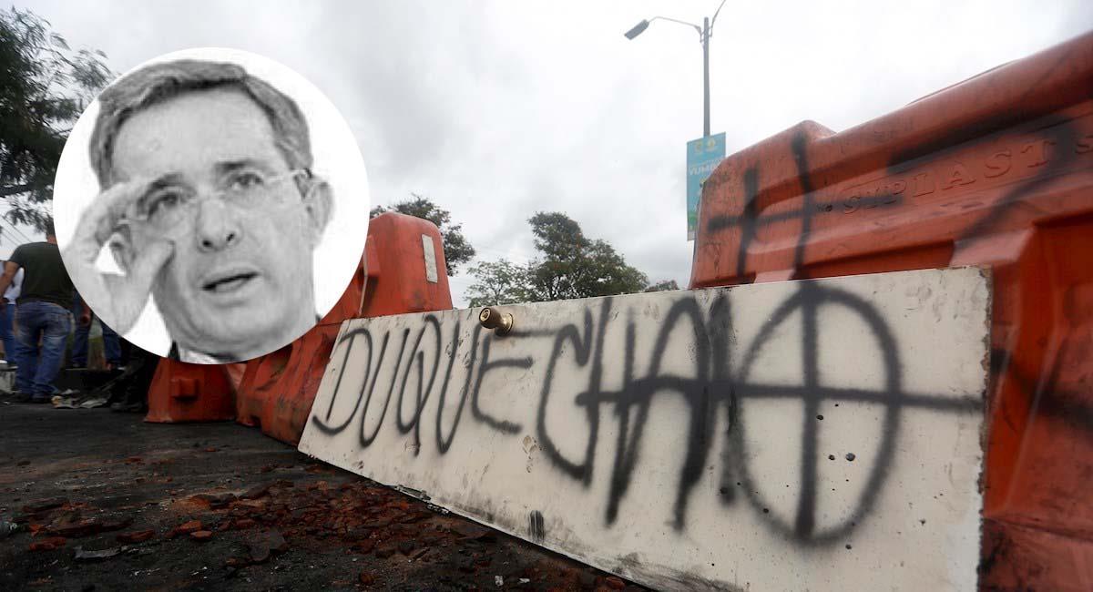 Ya son más de doce días de Paro en contra del gobierno de Iván Duque. Foto: EFE