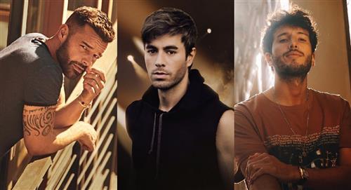 Ricky Martin y Enrique Iglesias anuncian las fechas de su gira con Sebastián Yatra