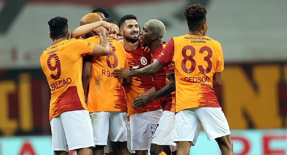 Galatasaray sueña con ser campeón en la Liga de Turquía. Foto: Twitter @Galatasaray