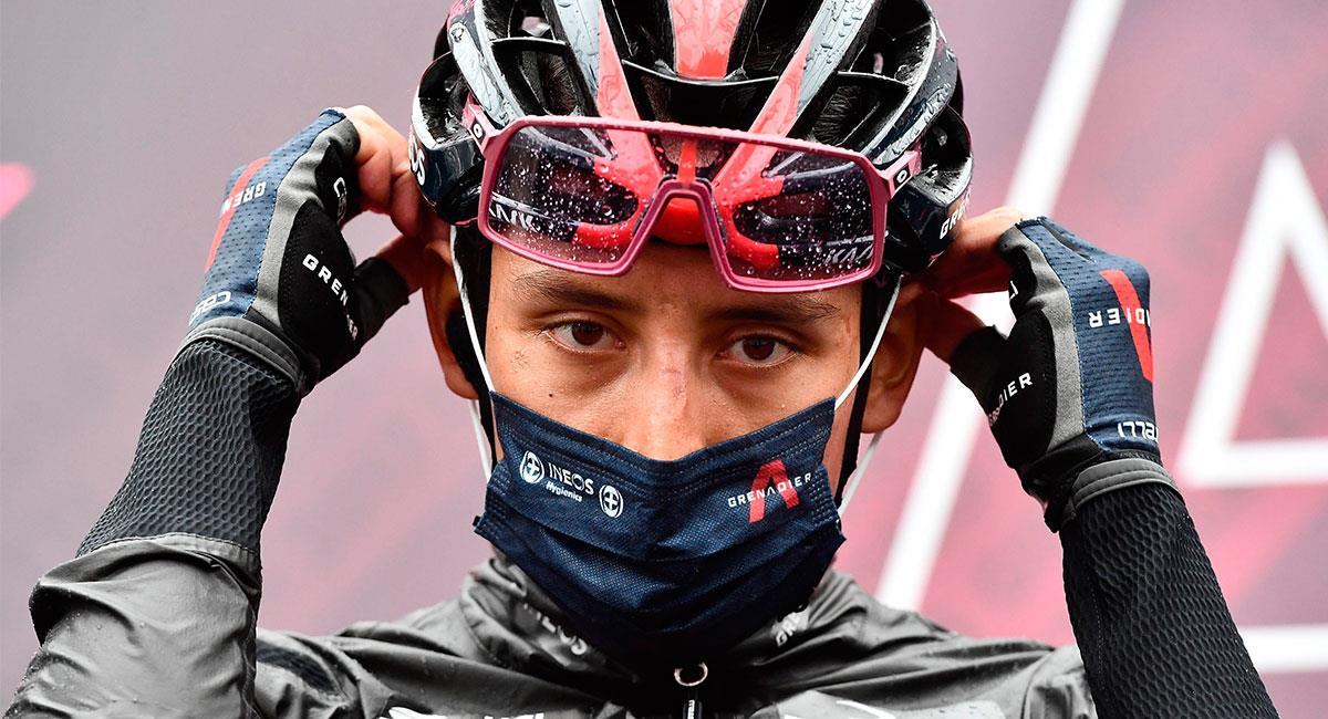 Egan Bernal es uno de los favoritos a quedarse con el título del Giro de Italia. Foto: EFE