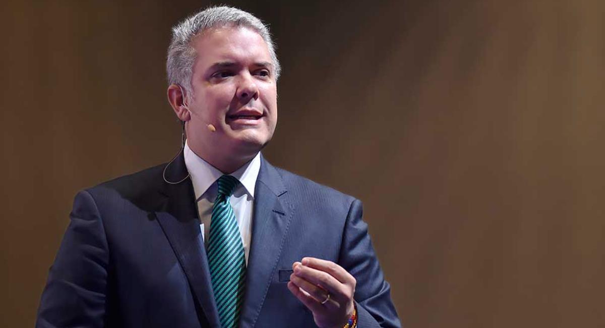 Duque pide a los manifestantes que levanten bloqueos en vías. Foto: Presidencia de Colombia