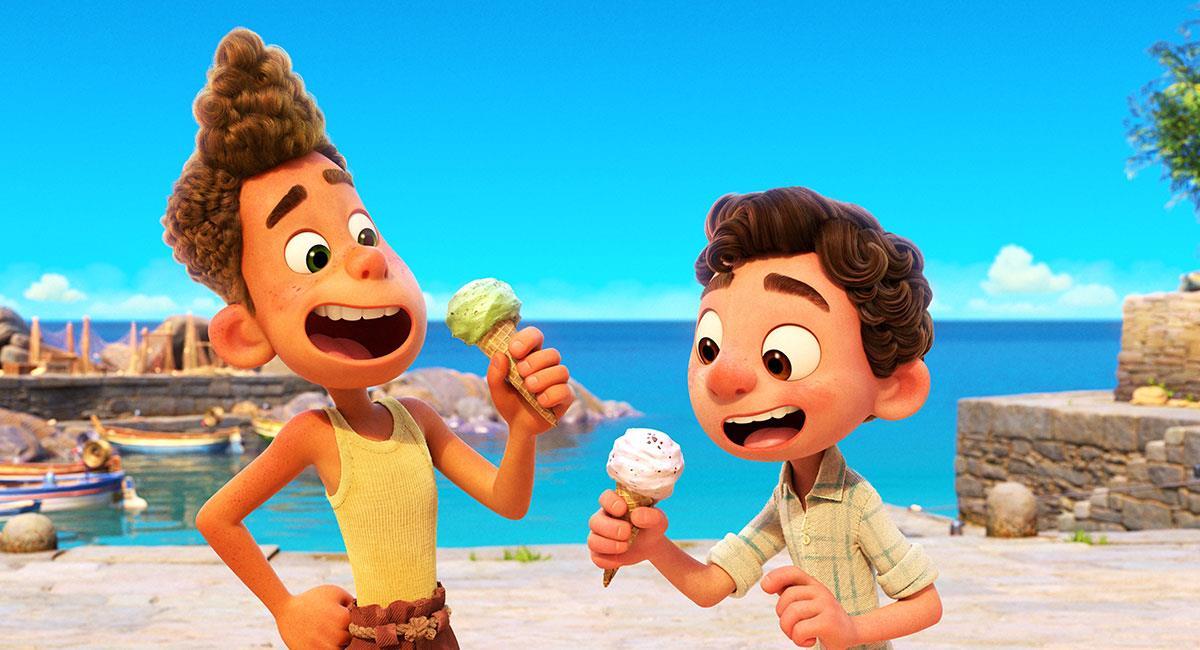 """""""Luca"""" ya mostró sus primeras imágenes en dos tráilers estrenados por Pixar. Foto: Twitter @PixarLuca"""