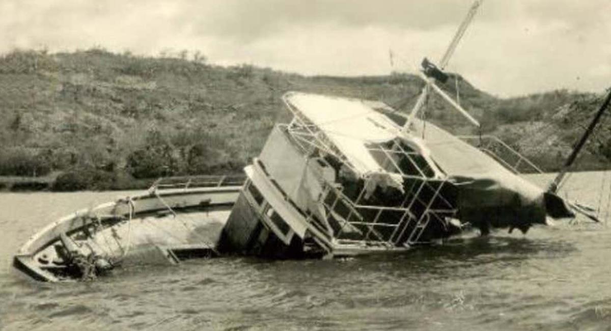 """Las pertenencias de los pasajeros, """"desapareció"""" y también las """"rutas de navegación"""" del capitán Miller. Foto: Wikimedia Commons"""