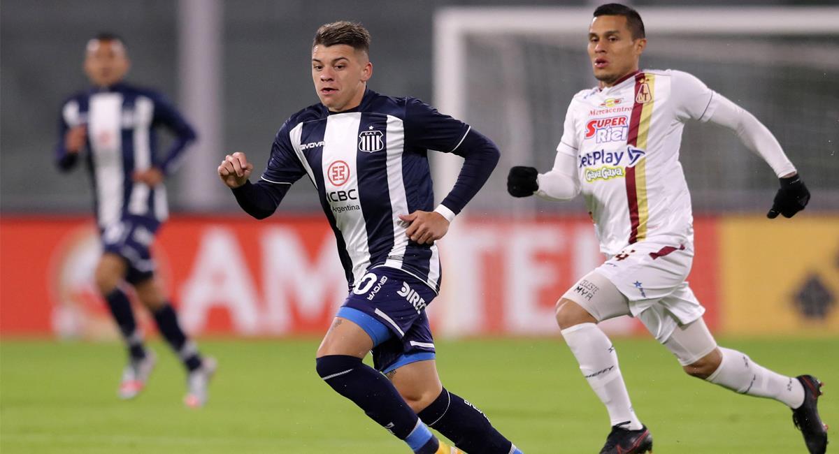 Deportes Tolima empató a cero goles con Talleres y con tres empates y una derrota tiene un difícil panorama para avanzar en la Copa Sudamericana. Foto: Twitter @Col_OpinionDep