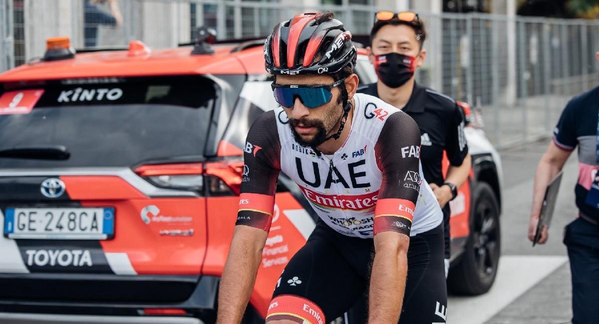 Sigue EN VIVO la etapa 5 del Giro de Italia. Foto: Twitter @TeamEmiratesUAE