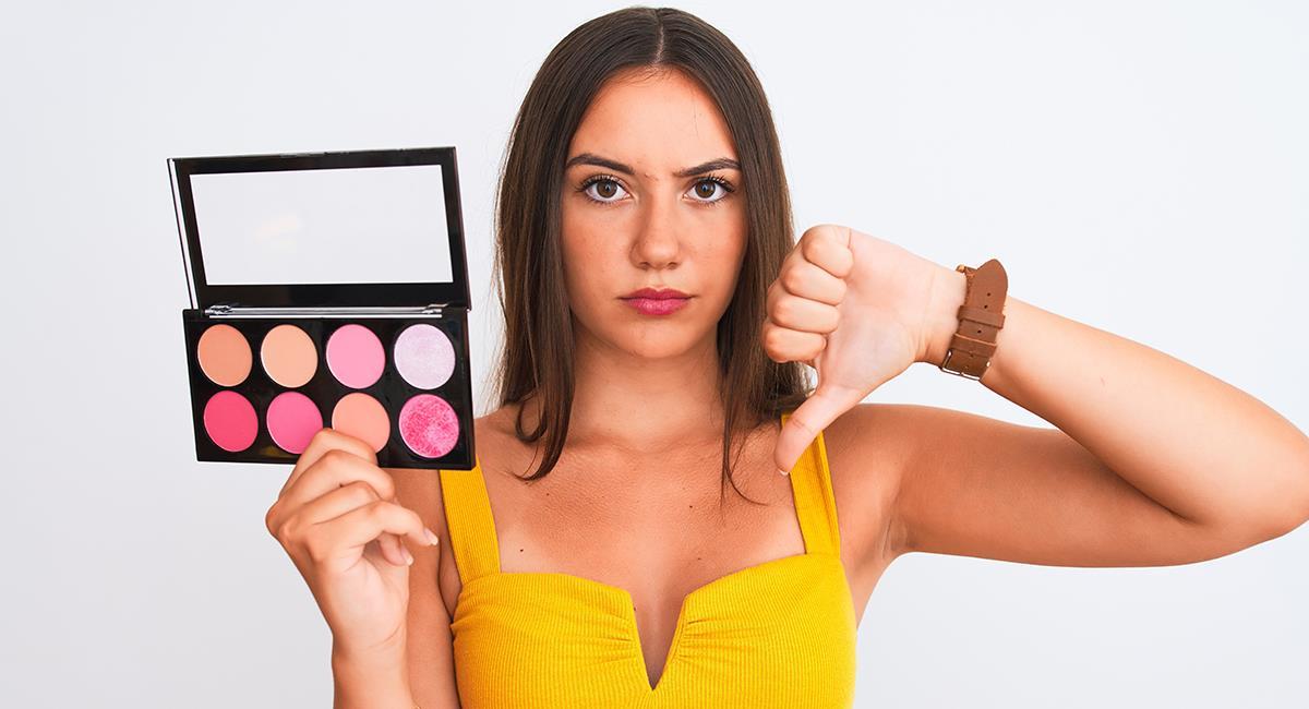 5 razones para no maquillarse todos los días y dejar descansar la piel. Foto: Shutterstock