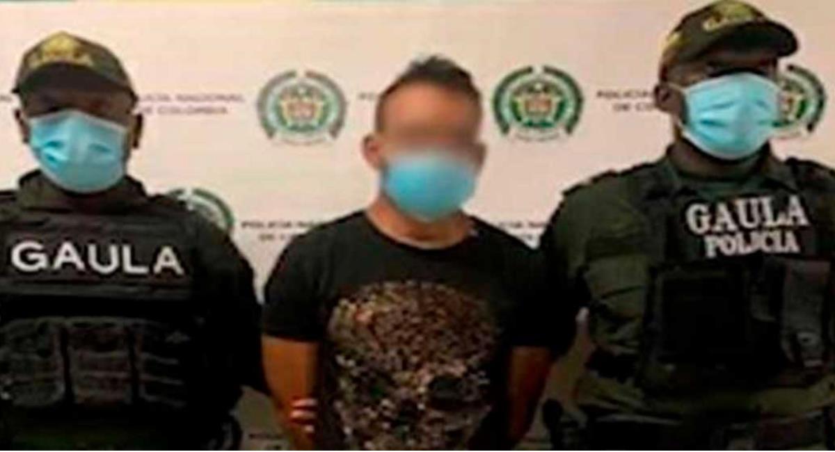 Alias 'Jacobo' sería el responsable de actos terroristas y vandálicos en Cali. Foto: Presidencia de Colombia