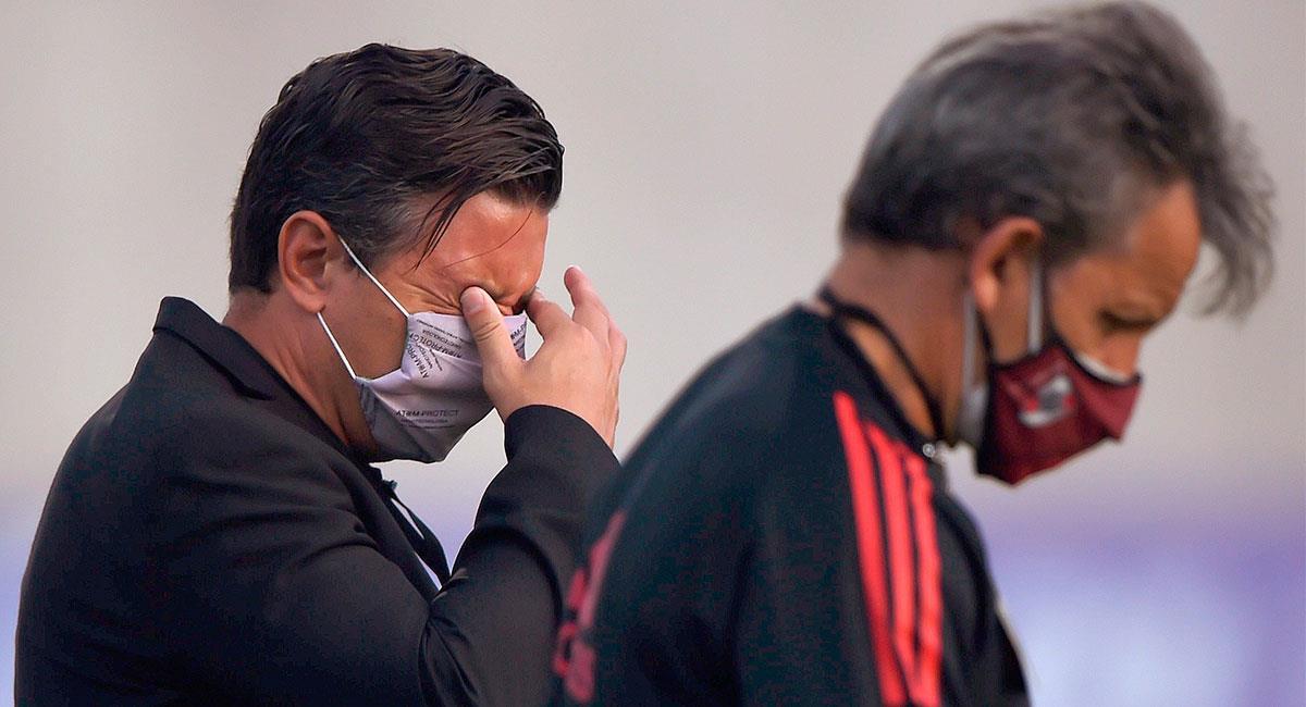 River Plate jugó ante Junior en medio de una difícil situación de orden público en Barranquilla. Foto: EFE