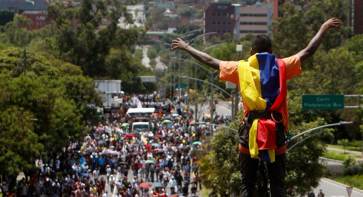 En Barranquilla la canción retumbó en las calles el fin de semana. Foto: EFE