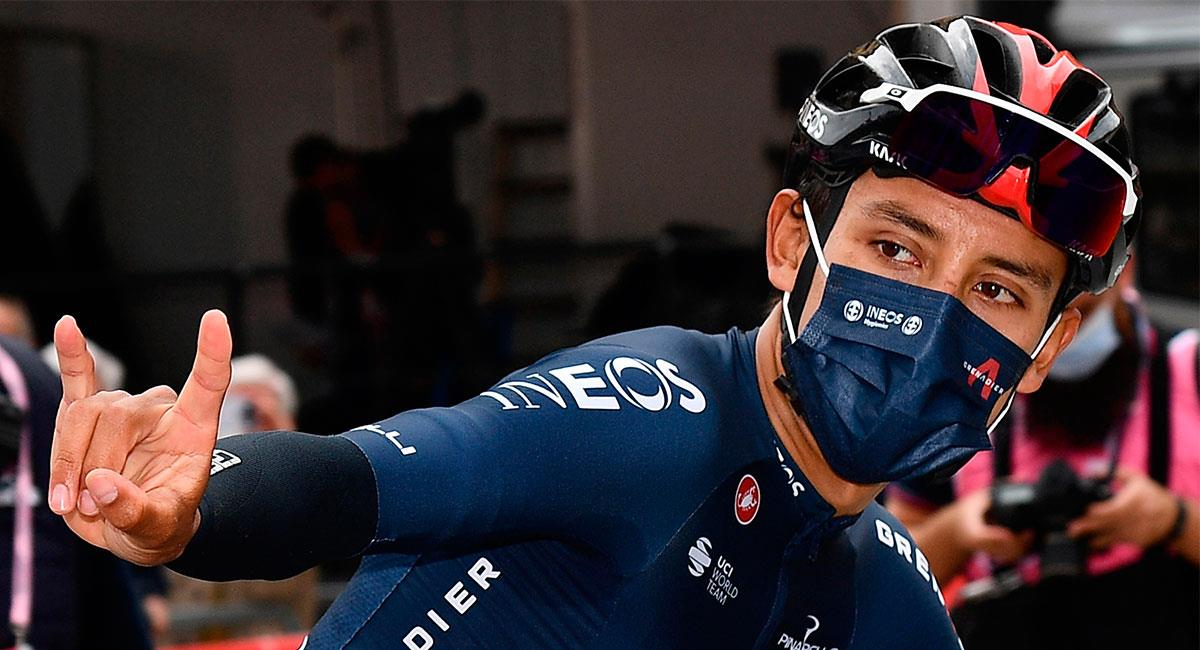 Egan Bernal es uno de los favoritos para quedarse con el título de Giro de Italia. Foto: EFE
