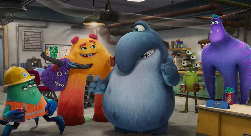 Monsters at Work, la serie de «Monsters Inc», reveló su primera imagen oficial