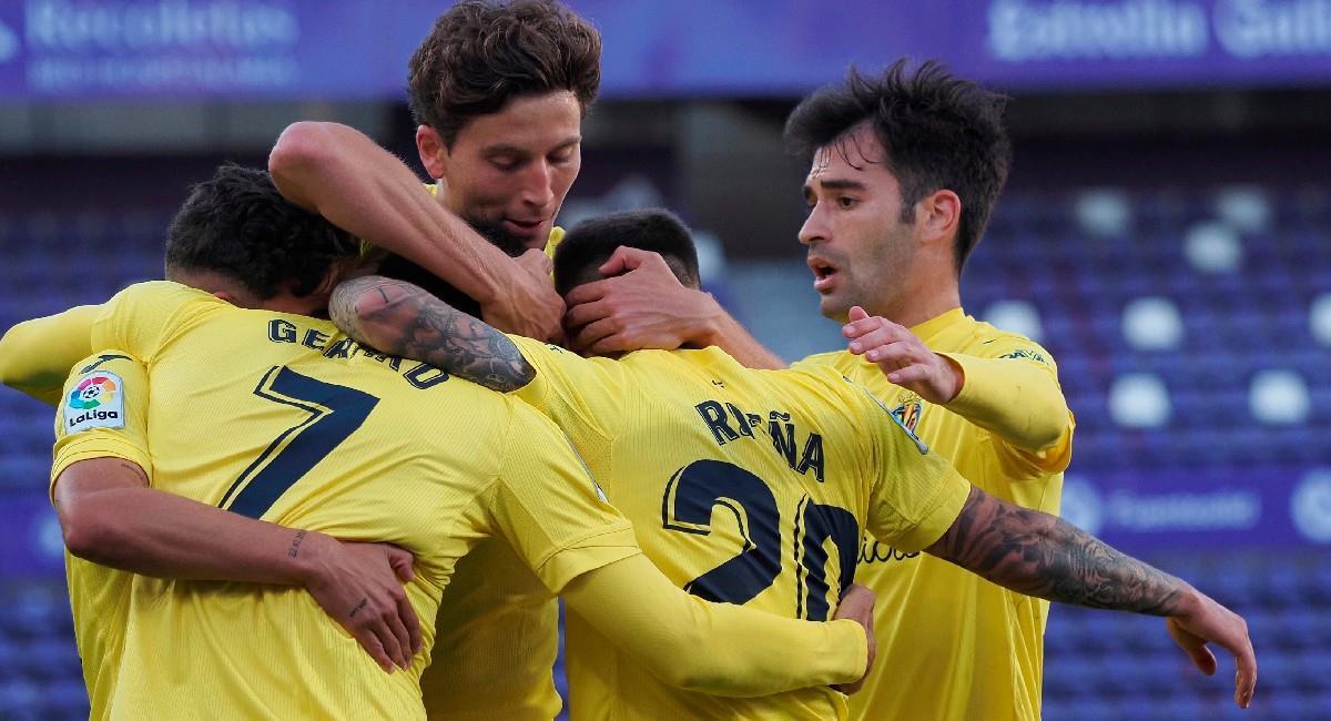Villarreal derrota como visitante a Real Valladolid en LaLiga. Foto: EFE