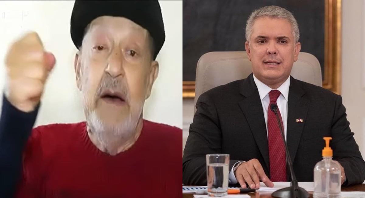 El icónico actor también habló del exministro de Hacienda, Alberto Carrasquilla. Foto: Instagram