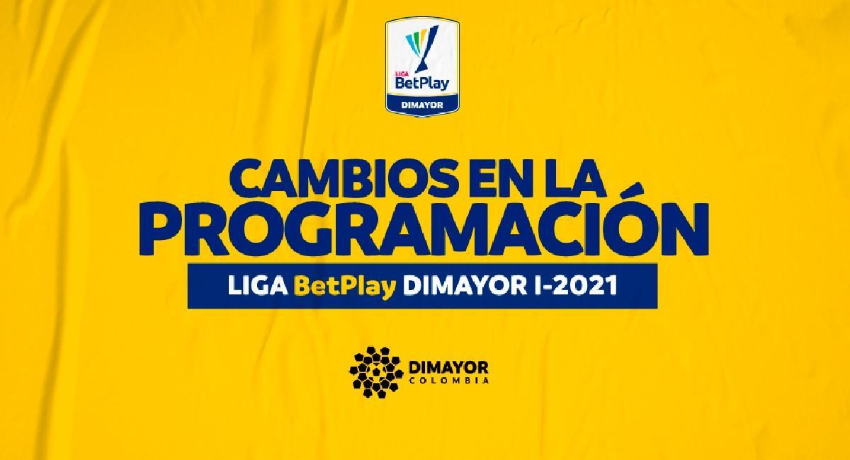 Hay cambios en el calendario de la Liga BetPlay el Torneo Ascenso. Foto: Twitter @Dimayor